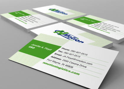 nmotion business cards