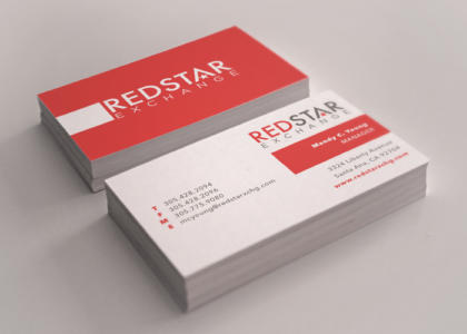 redstar business cards
