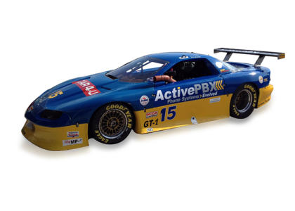 active pbx race car