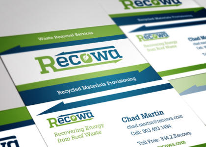 recowa business cards