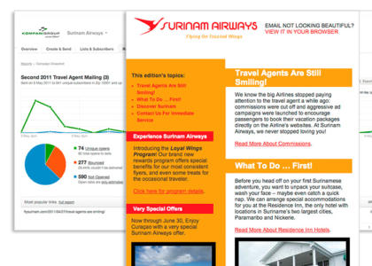surinam airways newsletter