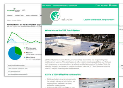 V2T newsletter
