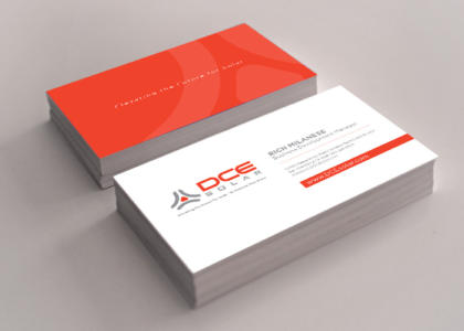dce business cards