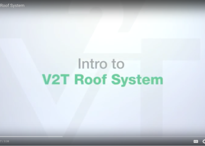 V2T Roof system intro video