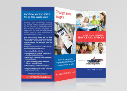 BSI full color trifold brochure