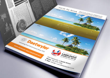 Daetwyler full color magazine ad
