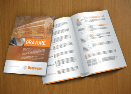 Daetwyler Pressroom full color brochure