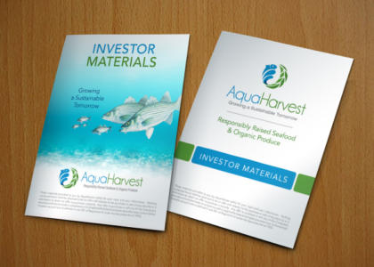 AquaHarvest investor materials full color