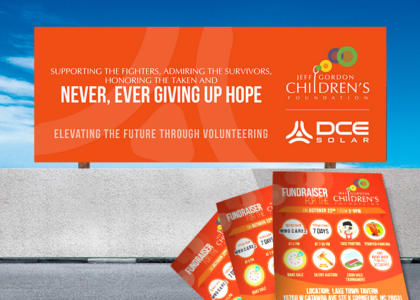 DCE Solar Jeff Gordon Foundation