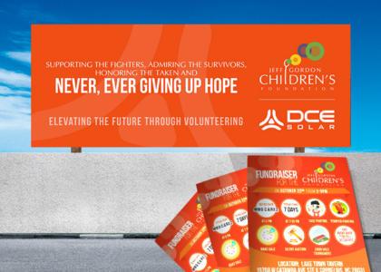 DCE Solar Jeff Gordon Foundation