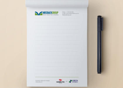 Marketing notepad