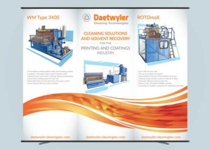 Daetwyler Pressroom InfoFlex Signage