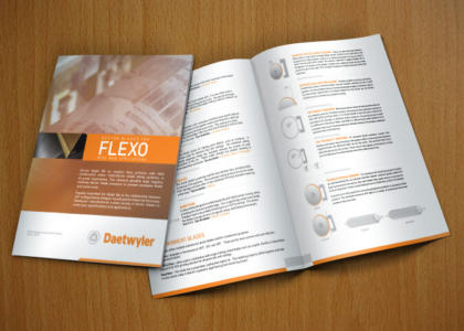 Daetwyler Flexco Wide Web brochure