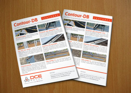 DCE Solar Contour DB full color sales sheet