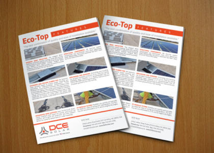 DCE Solar Eco-Top Sales Sheet