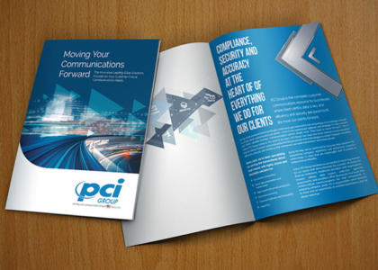 PCI Group full color brochure