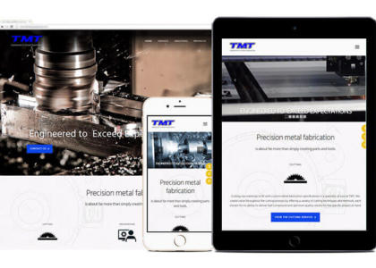 TMT website on devices