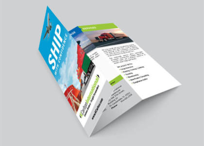 KCarlton International tri-fold brochure