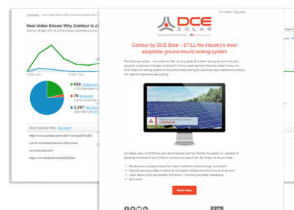 DCE Solar Installer Email Marketing
